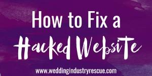 Fix a SoakSoak Malware Hacked Website?