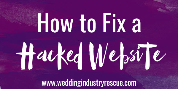How to fix a hacked website