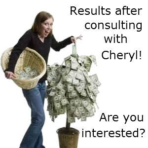 Money Tree results - Cheryl Bailey