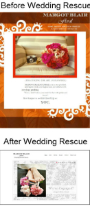 sWedding Business Rescue Before and After